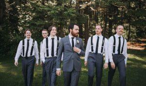 groomsmen party photos